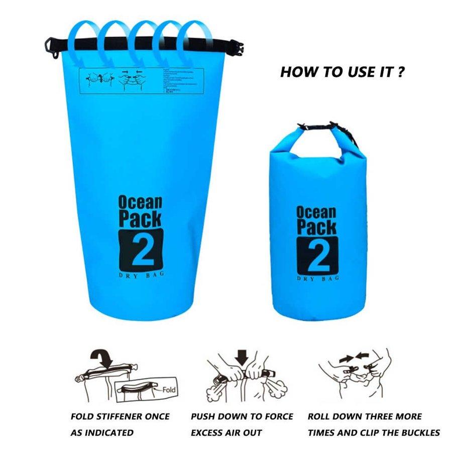 Ūdens izturīgā soma, 15 litri